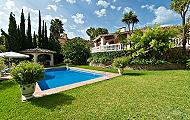 Lovely Rustic Style Villa With Great Views In Benahavis - Marbella